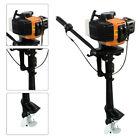 2-Stroke 3.5 HP Outboard Motor Fishing Inflatable Boat Engine Air/Water Cooling