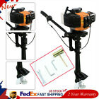2 Stroke 3.5HP Outboard Motor Fishing Inflatable Boat Engine Air / Water Cooling
