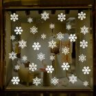 Christmas Snowflakes Vinyl Art Decal Stickers Window Removable Home Shop Uk
