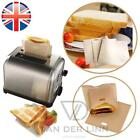 *UK Seller* 1~8X EXTRA LARGE Reusable Toastabags Sandwich Toast Bags Toaster