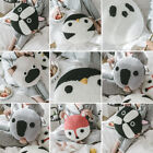 Home Decor Knitted Cartoon Animal Sofa Bedroom Seat Bed Pillow Throw Cushion