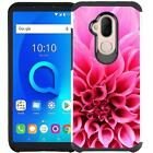 For Alcatel 7 / Revvl 2 Plus 2018 Phone Case Shockproof Dual Layer Hybrid Cover