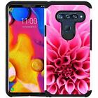 LG V40 ThinQ Phone Case Shockproof Dual Layer Hybrid Cover Vibrant Design USA