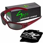 Marilyn III Red Foam Padded Sunglasses Various Lens Options Including Photochrom
