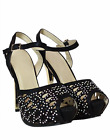 Women's Ladies High Stiletto Heel Platform Peep Toe Girls Strappy Party Shoes