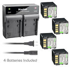 Kastar Battery AC Rapid Charger for JVC BN-VF714 & GZ-MG60 GZ-MG60AA GZ-MG60E