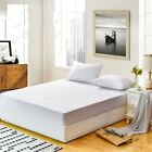 Bed Skirts Waterproof Towel Cloth Bug Mattress Sheet Cover Home Hotel Decoration image