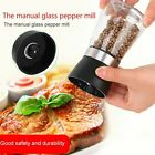 Kitchen Accessory Stainless Steel Glass Manual Pepper Salt Spice Mill Grinder ST
