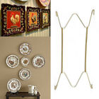 """W Shape Hook 8"""" to 16""""Inchs Wall Display Plate Dish Hangers Holder Home Decor"""