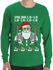 Valahalla Mythology Viking Nordic God Ugly Christmas Sweater Long Sleeve T-Shirt