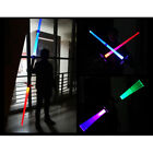 2018 Light Growing Sword Star Wars Double Light Sabers Toy Swords For Kids Gift for sale  Shipping to Canada
