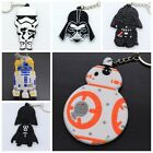 NEW Star Wars Soft Rubber Keyring Keychain double sideds $1.31 CAD on eBay