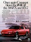 1989 Chrysler Conquest #6 Vintage Car Poster Print Wall Art Sign Auto Garage