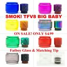SMOK² TFV8 Big Baby Stick V8 G-Priv Bubble Glass Tube Tank W/ Drip Tips for sale  Shipping to Canada