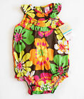 NWT Girls Sunsuit Romper Carters NEW Set Hat Summer Outfit 3m 6m 9m 12m