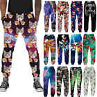 Animal Cat 3d Print Mens/Womens Casual Pants Jogging Sweatpants Long Trousers