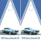 Chevrolet Chevelle Cornhole Wraps Chevy Boards Decals Bag Toss Game Stickers