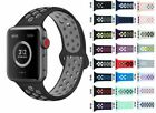 Replacement Silicone Sport Band Strap for Apple Watch iWatch 4 3 2 44MM 40 42 38