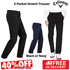 CALLAWAY GOLF TROUSERS MENS GOLF TROUSERS ALL SIZES NEW 40% SALE BLACK OR NAVY