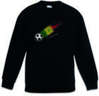 Senegal Football Comet I Kids Boys Girls Pullover senegalese Soccer Flag