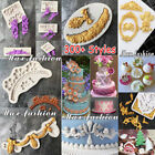 Внешний вид - Retro Scroll Relief Borders Silicone Cake Topper Fondant Mold Sugarcraft Mould
