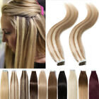 us super tape in glue 100 remy human hair extensions real thick 60pcs 150g j389
