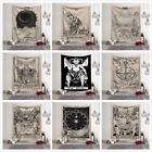 Внешний вид - Vintage European Wall Hanging Witchcraft Ouija Tapestry Astrology Blanket Arras
