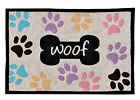 Pet Placemat Mat Dog Puppy Food Water Bowl No Slide Feeding Mats Machine Wash