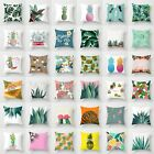 Polyester Tropical Plants&Cactus Sofa Pillow Case Cushion Cover Home Decor 18