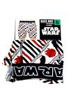 Star Wars Mens Boxer Briefs Choose your Size Red White and Blue NIP $16.49 USD on eBay