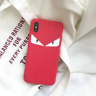 Luxury Iphone Case Fendi Monster Eyes Solf Phone Cover For Iphone 6 7 8 X XR XS