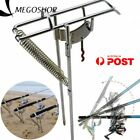 Automatic Adjustable Tackle Bracket Double Spring Fishing Rod Holder Angle Fig-G