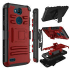For LG X Charge/X Power 3/2/Fiesta Case Belt Clip Holster Stand Hard Phone Cover