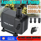 2500L/H/3000L/H Submersible Aquarium Fish Tank Fountain Pond Water Pump 220-240V