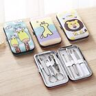 7pcs/set Home Unisex Adults Nail Trimming Tools Clippers Manicure Pedicure Kit
