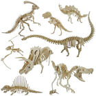 3D Puzzle Dinosaur Style Wooden Educational Toy DIY Kids Gift Healthy Creative