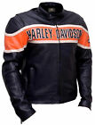 Harley Davidson Biker Genuine Leather Jacket Victoria Lane Style Motorcycle Top $151.13 CAD on eBay