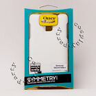 OtterBox SYMMETRY Hard Snap Cover Case For Samsung Galaxy Note 4 - White & Blue