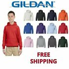 Внешний вид - Gildan Youth Basic Fleece Blend Hooded Pullover Sweatshirt 18500B XS-XL Hoodie