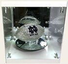 NEW NCAA Football Made with Swarovski® Crystals + Case - ANY TEAM! OBO
