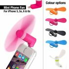Micro Portable Cooling Fan Soft Blade iPhone Smart Phone Lightning Connector