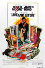 Y-553 Live and Let Die 1973 27x40 24x36 Hot Poster James Bond Roger Moor $1.6 USD on eBay