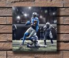 Y220 Detroit Lions Calvin Johnson baseball Player  Hot Fabric Poster 16x16 24x24 $7.6 USD on eBay