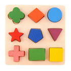Kids Baby Wooden Learning Geometry Educational Toys Puzzle Montessori Toy Gift