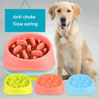 Slow Feed Interactive Bloat Stop Dog Bowl Large Eating Food Pet Feeder Cup Diet