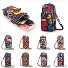 Multi-color Small Cross Body Purse for Womens Shoulder Bag Girls Cell Phone image
