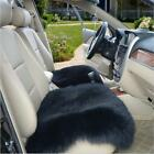 Real Australia Sheepskin Long Wool Hair Full Car Seat Covers winter warm Black $39.99 USD on eBay