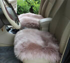 Real Australia Sheepskin Long Wool Hair Sofa Front & Rear Car Seat Covers winter $15.99 USD on eBay