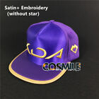 LOL League of Legends S8 K/DA Kda Akali Skin Hat Cap Rap Cosplay Assassin Sa