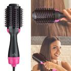 One Step Hair Dryer Volumizer Curling Oval Brush Bristles Comb Styling